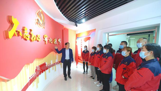 河北高阳:党建引领企业发展