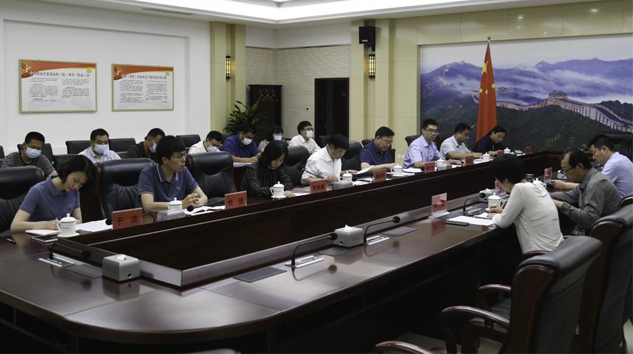 魏四海参加办公室党支部党史学习教育专题组织生活会 提出三点要求